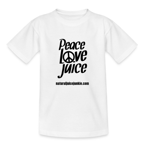 Peace Love Juice - Women's Long Sleeve - Teenage T-shirt