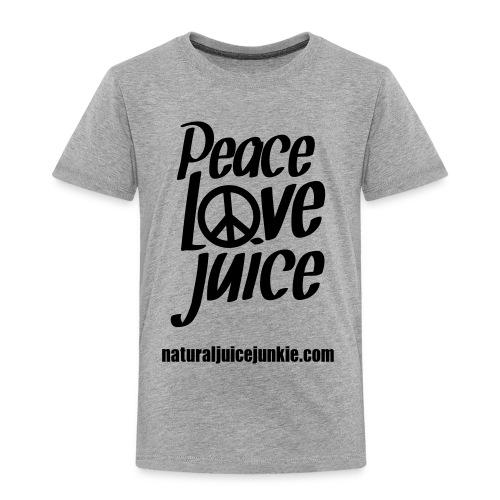Peace Love Juice - Women's Long Sleeve - Kids' Premium T-Shirt
