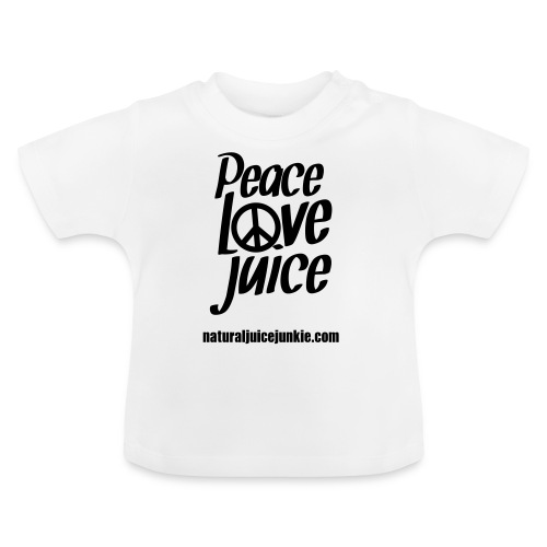 Peace Love Juice - Men's Tee - Baby T-Shirt