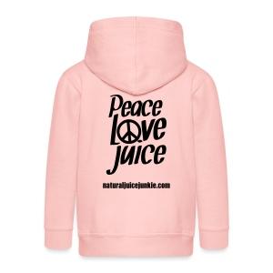 Peace Love Juice - Men's Tee - Kids' Premium Zip Hoodie