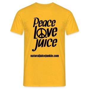 Peace Love Juice - Men's Tee - Men's T-Shirt