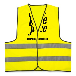 Peace Love Juice - Men's Tee - Reflective Vest