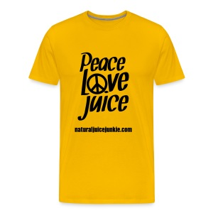 Peace Love Juice - Men's Tee - Men's Premium T-Shirt