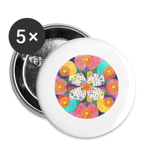AbunDance Shopping Bag - Buttons small 25 mm