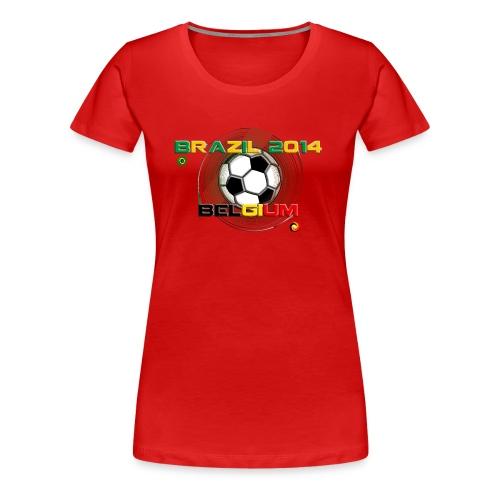 BELGIUM-BRAZIL - T-shirt Premium Femme