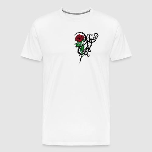 Red Rose - Männer Premium T-Shirt