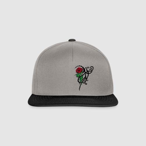 Red Rose - Snapback Cap