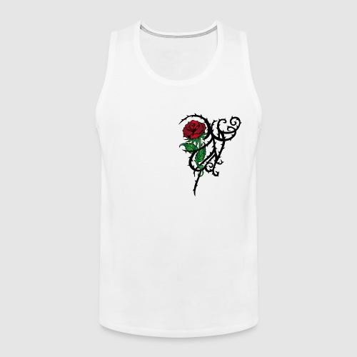 Red Rose - Männer Premium Tank Top