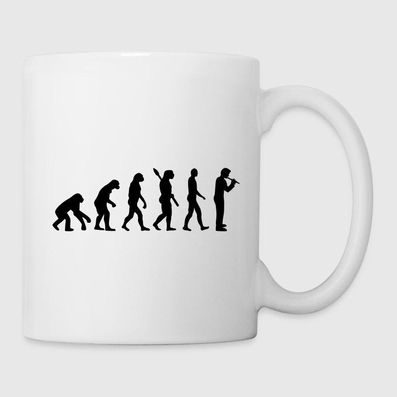 Evolution Flöte Flaschen & Tassen - Tasse
