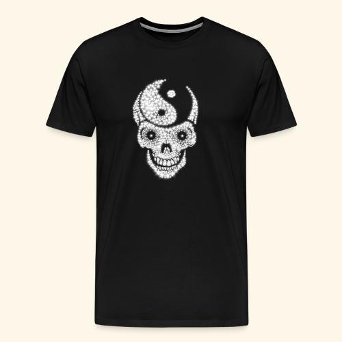 Totenschädel Damien - Männer Premium T-Shirt