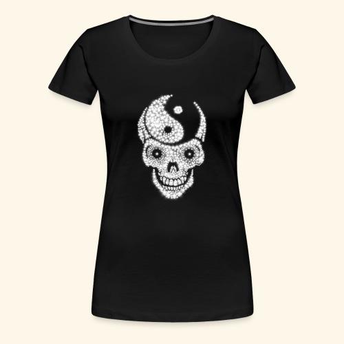 Totenschädel Damien - Frauen Premium T-Shirt