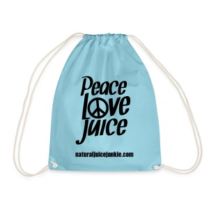 Peace Love Juice Apron - Drawstring Bag