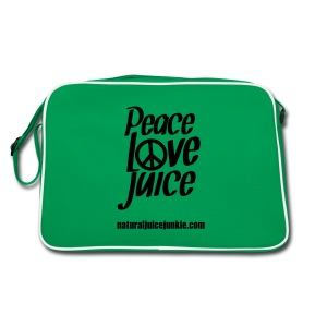 Peace Love Juice Apron - Retro Bag