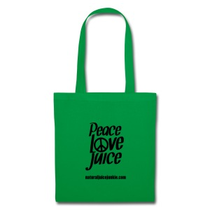 Peace Love Juice Apron - Tote Bag