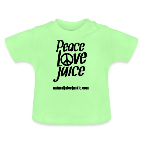 Peace Love Juice Apron - Baby T-Shirt