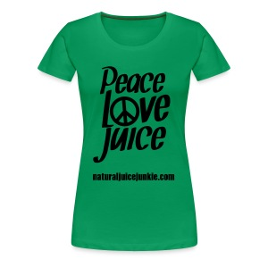 Peace Love Juice Apron - Women's Premium T-Shirt