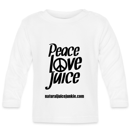 Peace Love Juice Apron - Baby Long Sleeve T-Shirt