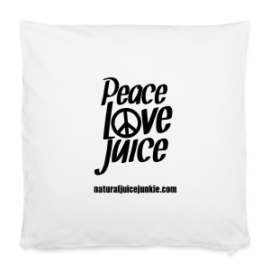 Peace Love Juice Apron - Pillowcase 40 x 40 cm