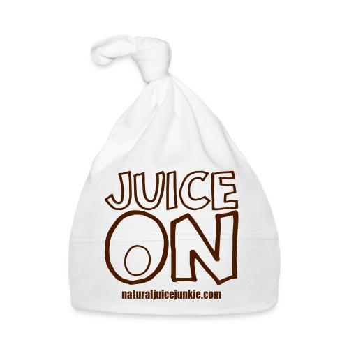 Juice On Apron (blue print) - Baby Cap
