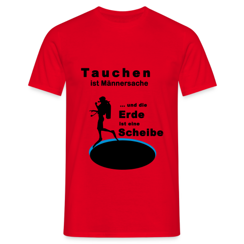 Frauen Tank Top Tauchen ist Männersache - Männer T-Shirt
