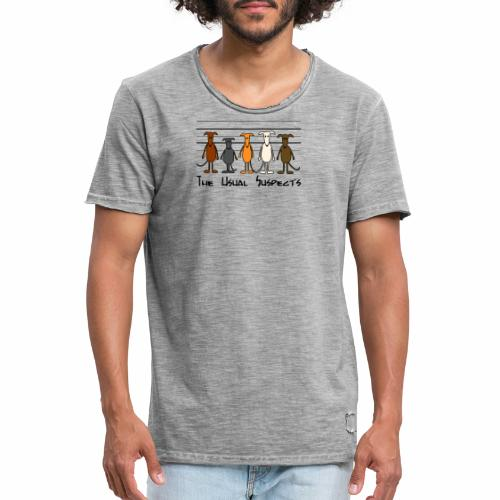 the usual suspects - Männer Vintage T-Shirt