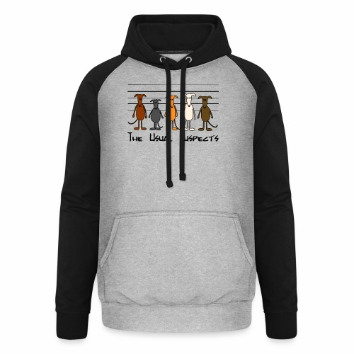 the usual suspects - Unisex Baseball Hoodie