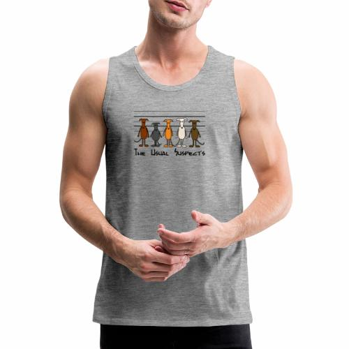 the usual suspects - Männer Premium Tank Top