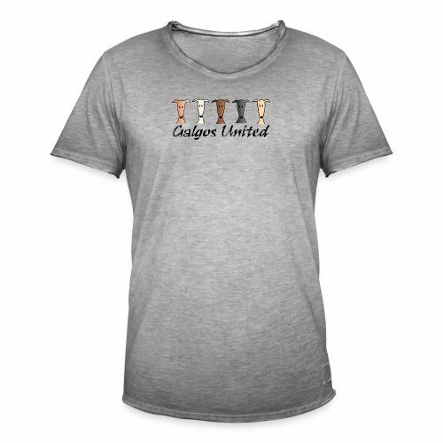Galgos united - Männer Vintage T-Shirt