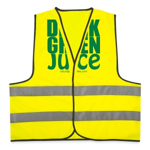 Drink Green Juice - Women's Tank Top - Reflective Vest