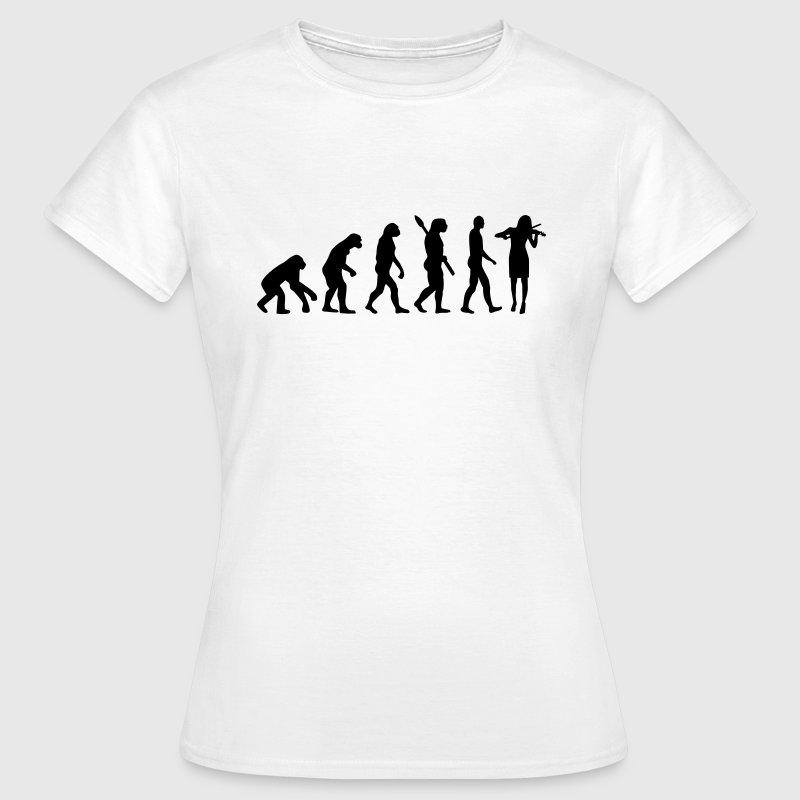 Evolution Geige T-Shirts - Frauen T-Shirt