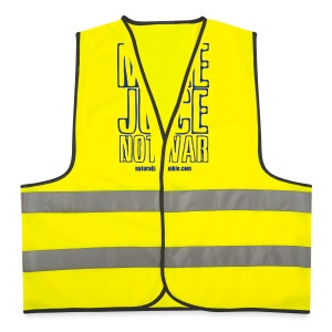 Make Juice Not War (Women's Tee) - Reflective Vest