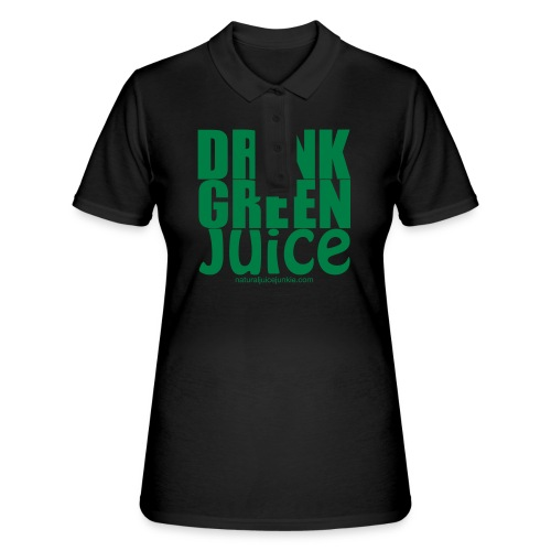 Drink Green Juice Recycled Shoulder Bag - Women's Polo Shirt