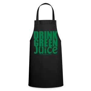 Drink Green Juice Recycled Shoulder Bag - Cooking Apron