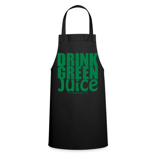 Drink Green Juice Recycled Shoulder Bag - Cooking Apron