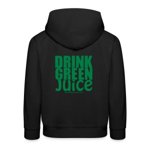 Drink Green Juice Recycled Shoulder Bag - Kids' Premium Hoodie