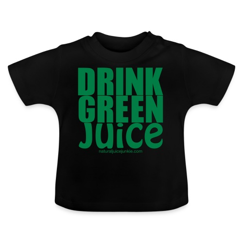 Drink Green Juice Recycled Shoulder Bag - Baby T-Shirt