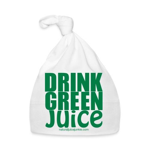 Drink Green Juice Recycled Shoulder Bag - Baby Cap