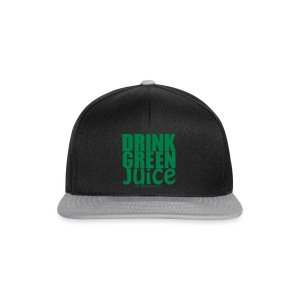 Drink Green Juice Recycled Shoulder Bag - Snapback Cap