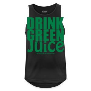 Drink Green Juice Recycled Shoulder Bag - Men's Breathable Tank Top