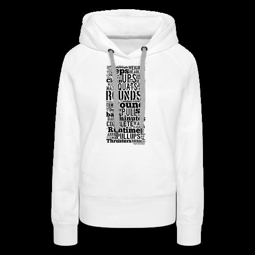 Crossfit - Frauen Premium Hoodie