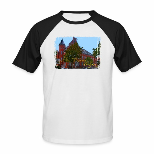 Altes Postamt Uelzen - Männer Baseball-T-Shirt