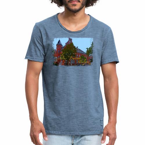 Altes Postamt Uelzen - Männer Vintage T-Shirt