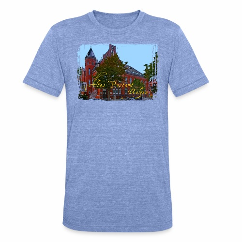 Altes Postamt Uelzen - Unisex Tri-Blend T-Shirt von Bella + Canvas