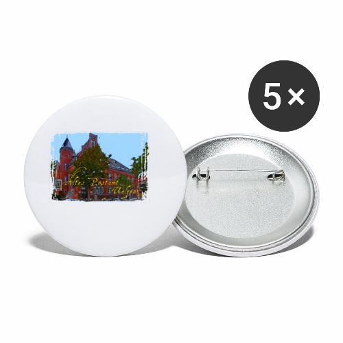 Altes Postamt Uelzen - Buttons klein 25 mm (5er Pack)