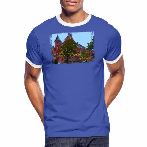Altes Postamt Uelzen - Männer Kontrast-T-Shirt