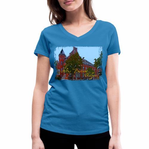 Altes Postamt Uelzen - Frauen Bio-T-Shirt mit V-Ausschnitt von Stanley & Stella