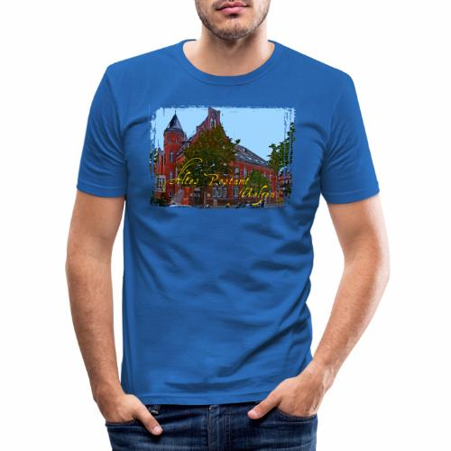 Altes Postamt Uelzen - Männer Slim Fit T-Shirt