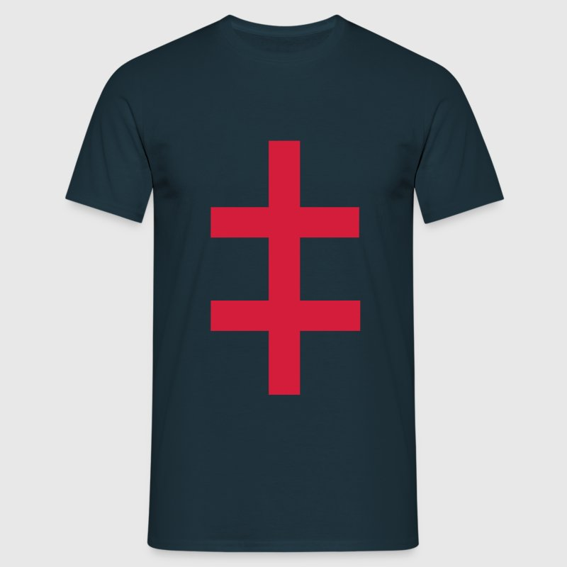 double cross - Men's T-Shirt