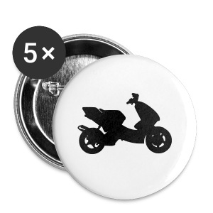 Scooter Tuning Neon HQ - Buttons klein 25 mm