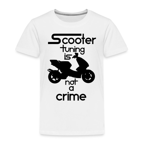 Scooter tuning is not a crime! Vol. III HQ - Kinder Premium T-Shirt